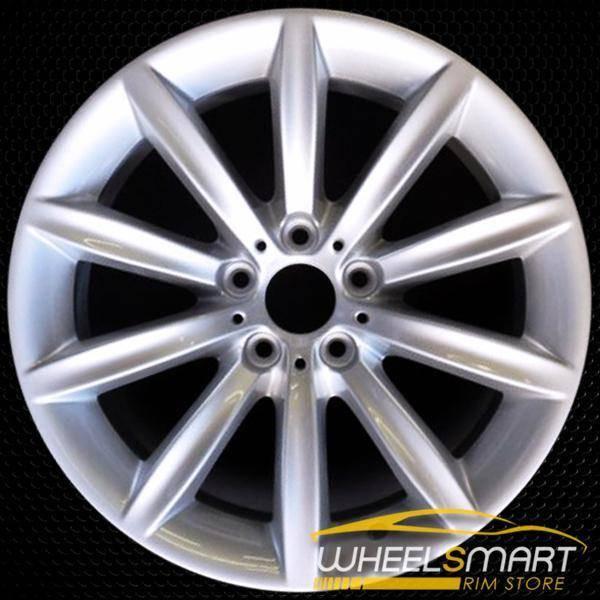 "19"" BMW 750i OEM wheel 2006-2008 Silver alloy stock rim ALY71163U20"