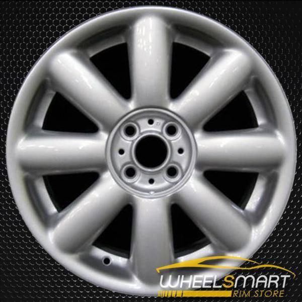 """17"""" Mini Cooper Mini OEM wheel 2007-2014 Silver alloy stock rim ALY71195U20"""