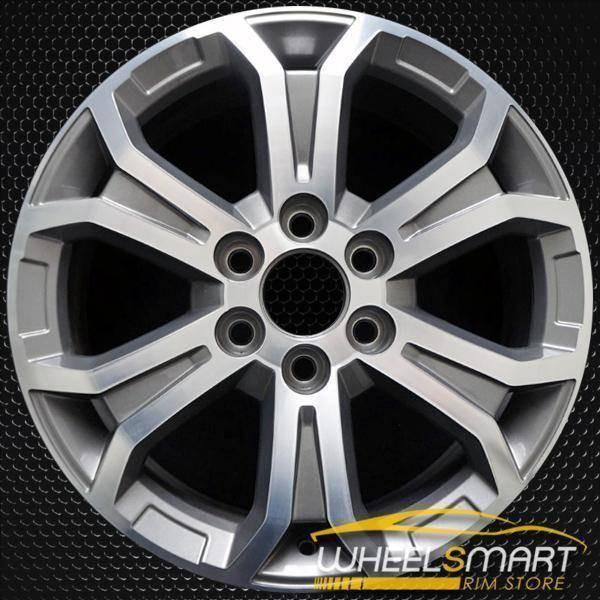 "19"" GMC Acadia oem wheel 2013-2016 Machined alloy stock rim 5573"