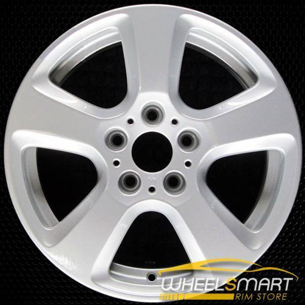"17"" BMW 5 Series OEM wheel 2006-2010 Silver alloy stock rim ALY71208U20"