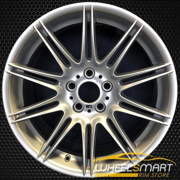 "19"" BMW 328i OEM wheel 2007-2013 Silver alloy stock rim ALY71238U20"