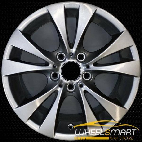 "17"" BMW 528i OEM wheel 2008-2010 Silver alloy stock rim ALY71297U20"