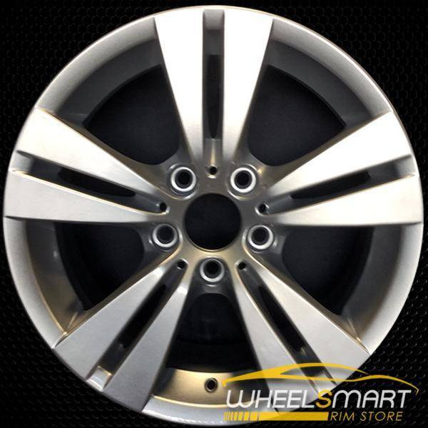 "17"" BMW 528i OEM wheel 2008-2010 Silver alloy stock rim ALY71298U20"