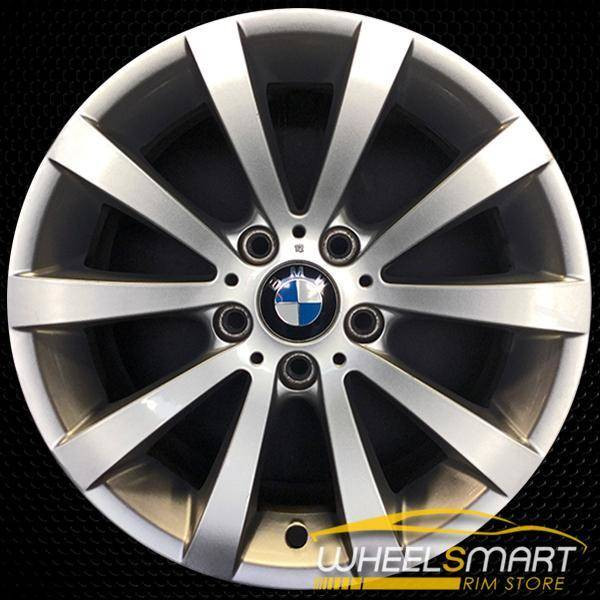 "17"" BMW 328i OEM wheel 2008-2013 Silver alloy stock rim ALY71317U20"