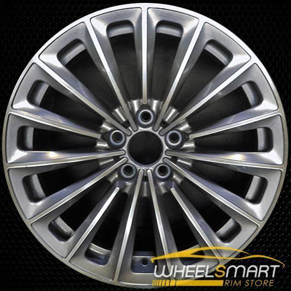 "19"" BMW 535i GT OEM wheel 2010-2017 Charcoal alloy stock rim ALY71336U35"