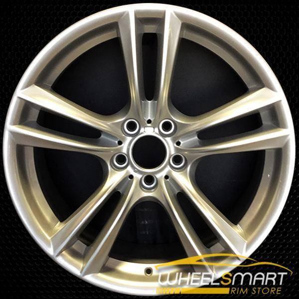 "20"" BMW 535i GT OEM wheel 2010-2017 Silver alloy stock rim ALY71380U20"