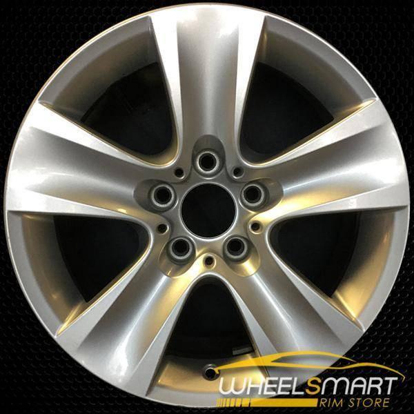"17"" BMW 528i OEM wheel 2011-2016 Silver alloy stock rim ALY71402U20"