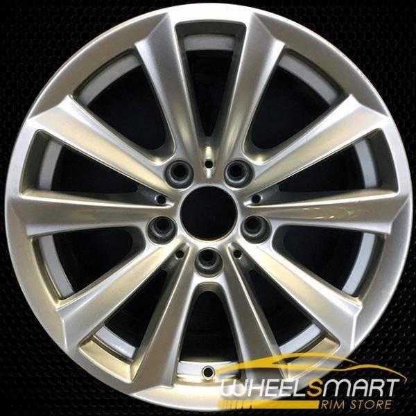 "17"" BMW 535i OEM wheel 2011-2016 Silver alloy stock rim ALY71403U20"