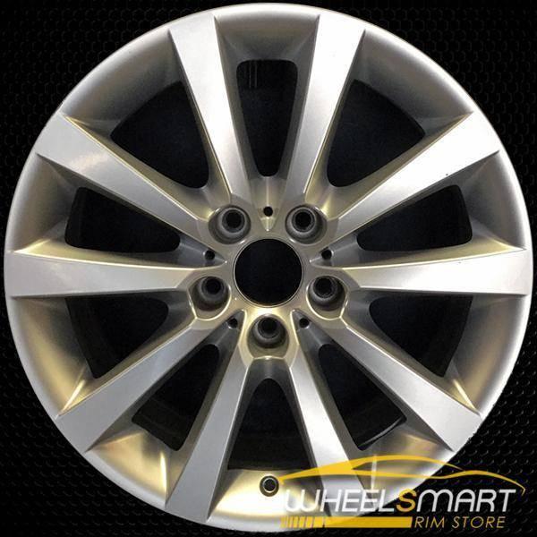 "18"" BMW 640i OEM wheel 2012-2018 Silver alloy stock rim ALY71408U20"