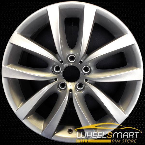 "19"" BMW 650i OEM wheel 2012-2018 Silver alloy stock rim ALY71416U20"