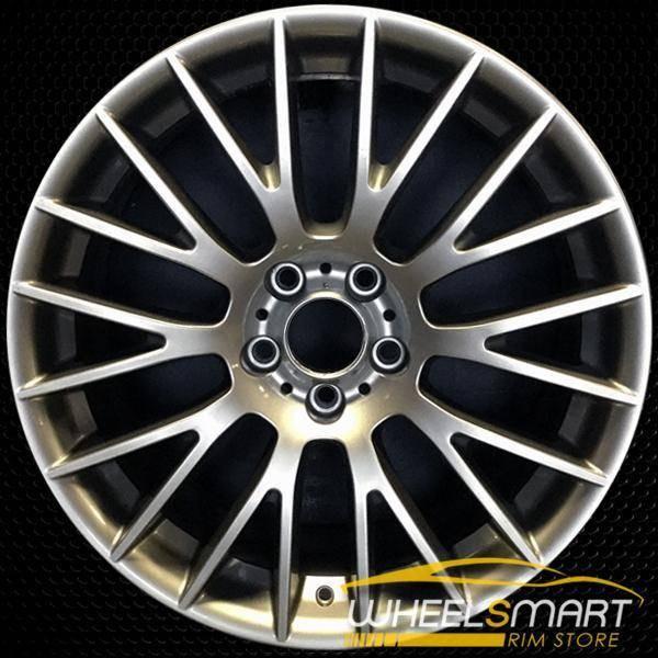 "20"" BMW 528i OEM wheel 2011-2016 Charcoal alloy stock rim ALY71425U40"