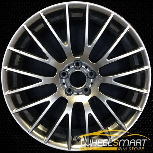 "19"" BMW M3 OEM wheel 2011-2013 Hypersilver alloy stock rim ALY71438U78"
