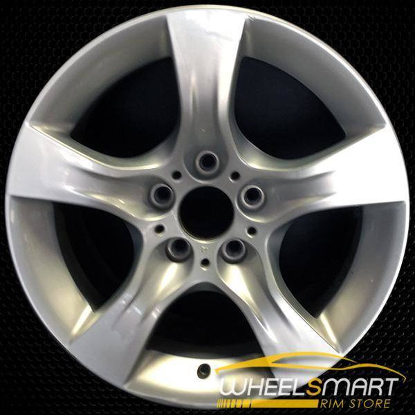 "17"" BMW 328i OEM wheel 2011-2013 Silver alloy stock rim ALY71452U20"