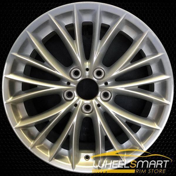 "18"" BMW 328i OEM wheel 2008-2011 Silver alloy stock rim ALY71457U20"