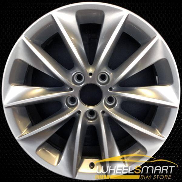 "18"" BMW X3 OEM wheel 2011-2017 Silver alloy stock rim ALY71476U20"