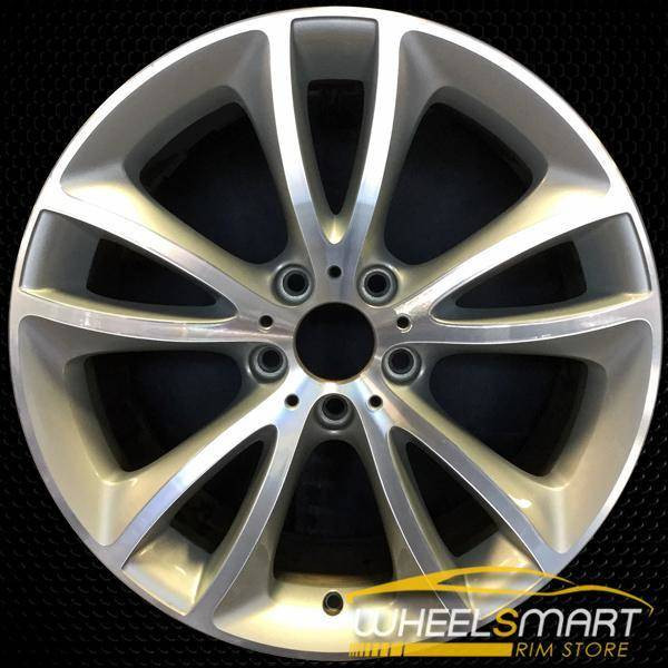 "19"" BMW 640i OEM wheel 2012-2018 Machined alloy stock rim ALY71518U10"