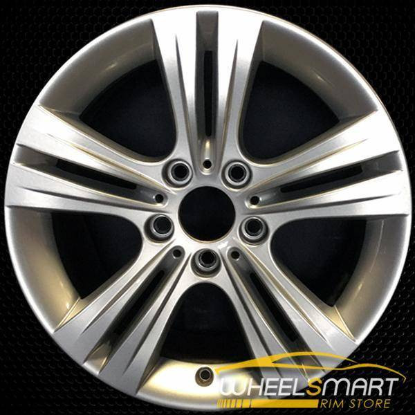 "17"" BMW 320i OEM wheel 2012-2018 Silver alloy stock rim ALY71534U20"