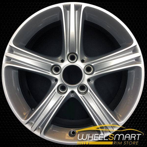 "17"" BMW 320i OEM wheel 2012-2018 Silver alloy stock rim ALY71535U20"