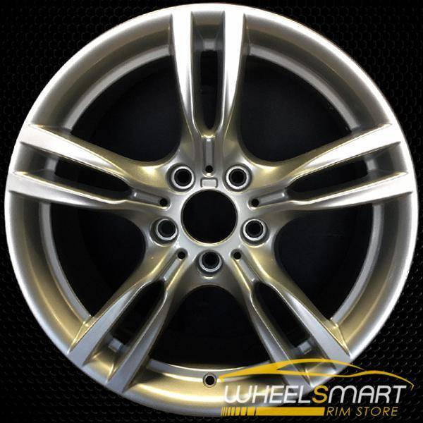 "18"" BMW 320i OEM wheel 2012-2018 Silver alloy stock rim ALY71619U20"