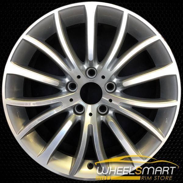 """18"""" BMW 528i OEM wheel 2011-2016 Machined alloy stock rim ALY71629U10"""