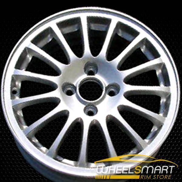 """15"""" Acura EL OEM wheel 2001-2003 Silver alloy stock rim ALY71717U20"""