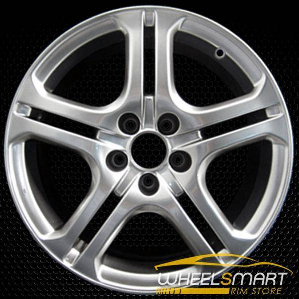 "18"" Acura TL OEM wheel 2004-2008 Hypersilver alloy stock rim ALY71735U78"