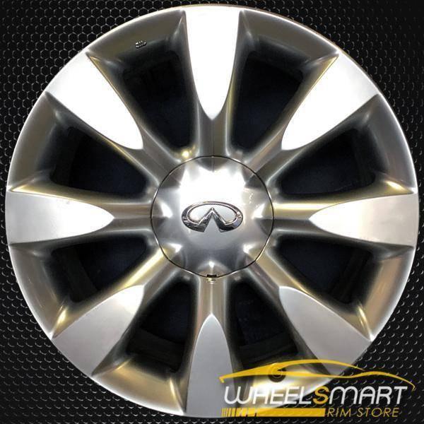 "18"" Infiniti M35 OEM wheel 2006-2007 Hypersilver alloy stock rim ALY73686U77"