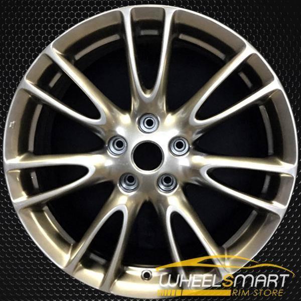 "18"" Infiniti G37 OEM wheel 2009-2013 Hypersilver alloy stock rim ALY73694U78"