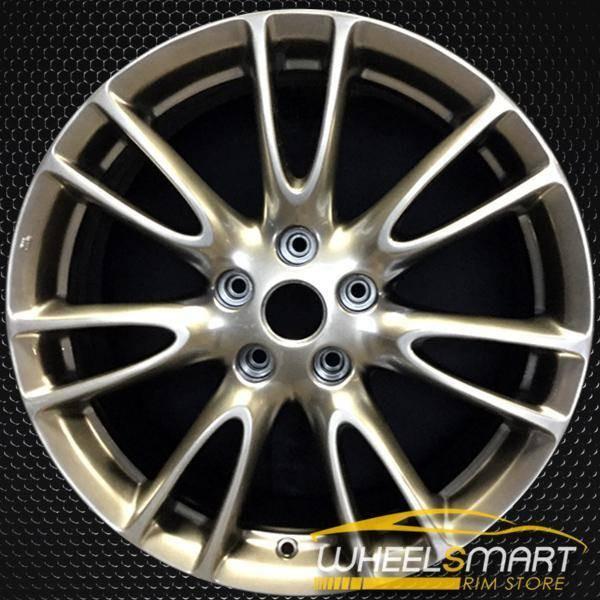 "18"" Infiniti G35 OEM wheel 2007-2008 Hypersilver alloy stock rim ALY73695U78"
