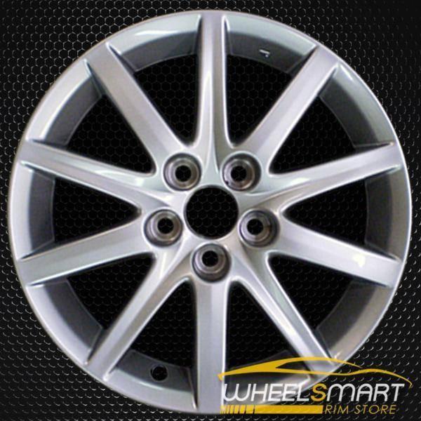 "17"" Lexus GS300 OEM wheel 2006 Silver alloy stock rim ALY74185U20"