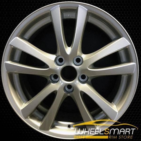 "18"" Lexus IS250 OEM wheel 2006-2008 Silver alloy stock rim 74189 ALY74189U20"
