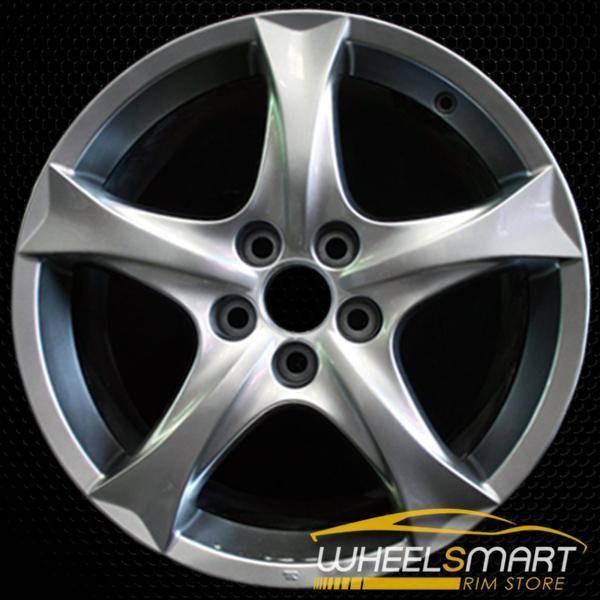 """18"""" Lexus IS250 OEM wheel 2006-2008 Hypersilver alloy stock rim ALY74194U78"""