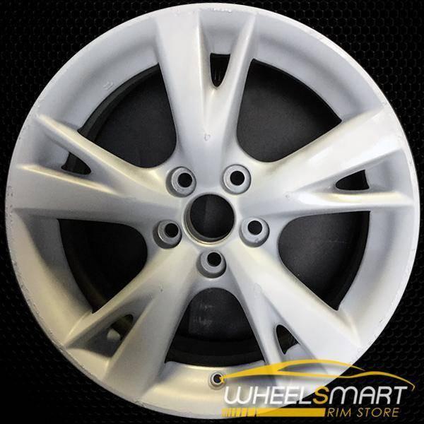 """18"""" Lexus IS250 OEM wheel 2009-2010 Hypersilver alloy stock rim ALY74218U79"""