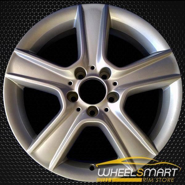 """17"""" Mercedes C300 OEM wheel 2010-2011 Silver alloy stock rim ALY85100U20"""