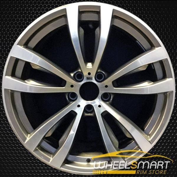 """20"""" BMW X5 OEM wheel 2014-2018 Machined alloy stock rim ALY86058U30"""