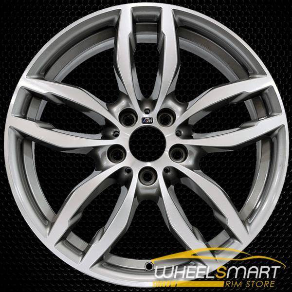 "19"" BMW X4 OEM wheel 2015-2018 Machined alloy stock rim ALY86101U10"