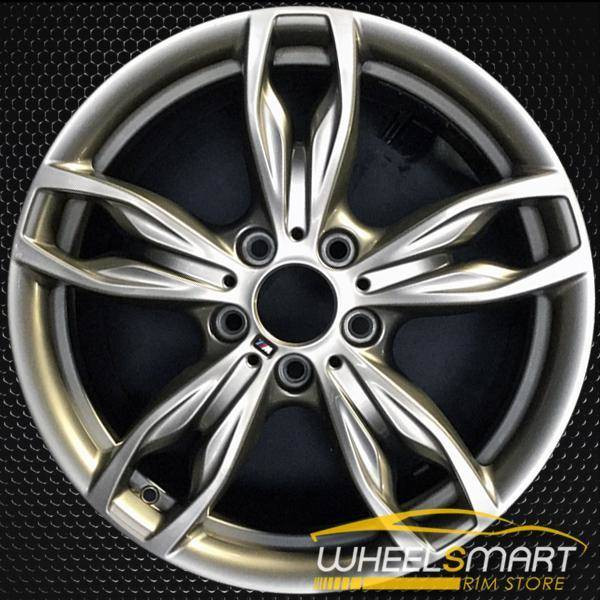 "18"" BMW 228i OEM wheel 2014-2016 Hypersilver alloy stock rim ALY86134U35"