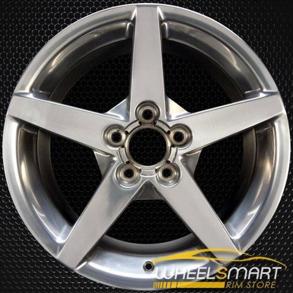 "18"" Chevy Corvette rims for sale 2005-2007 Polished OEM wheel ALY05208U80"