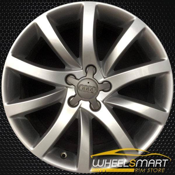 "18"" Audi A4 rims for sale 2013-2014 Silver OEM wheel ALY58911U20"