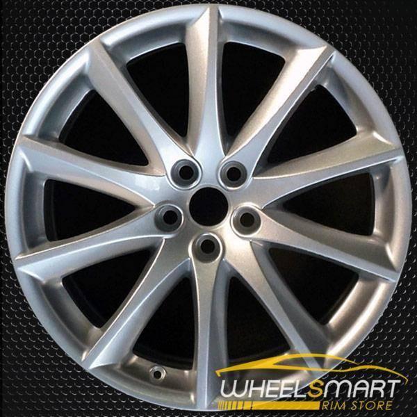 "19"" Jaguar XJ rims for sale 2010-2018 Silver OEM wheel ALY59870U20"