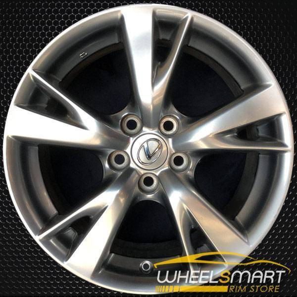 "18"" Lexus IS250 rims for sale 2009-2010 Hypersilver OEM wheel ALY74217U79"