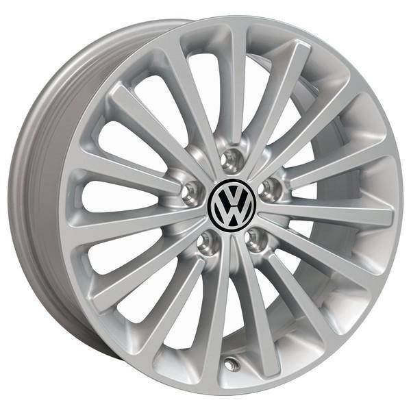 "17"" Volkswagen VW GTI replica wheel 2006-2018 Silver rims 9508136"