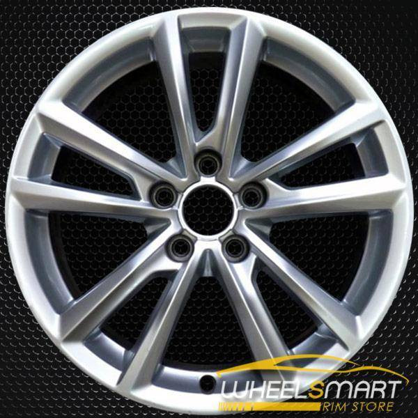"17"" Audi A3 rims for sale 2015-2018 Hypersilver OEM wheel ALY58948U77"