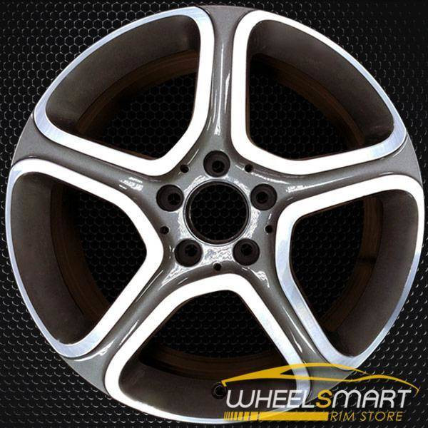 "17"" Mercedes CLA250 rims for sale 2014-2018 Charcoal OEM wheel ALY85337U35"
