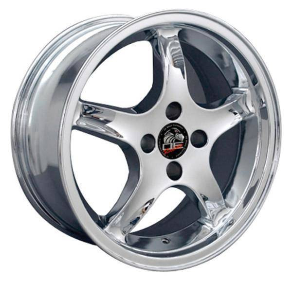 "17"" Ford Mustang   replica wheel 1979-1993 Chrome rims 8181860"