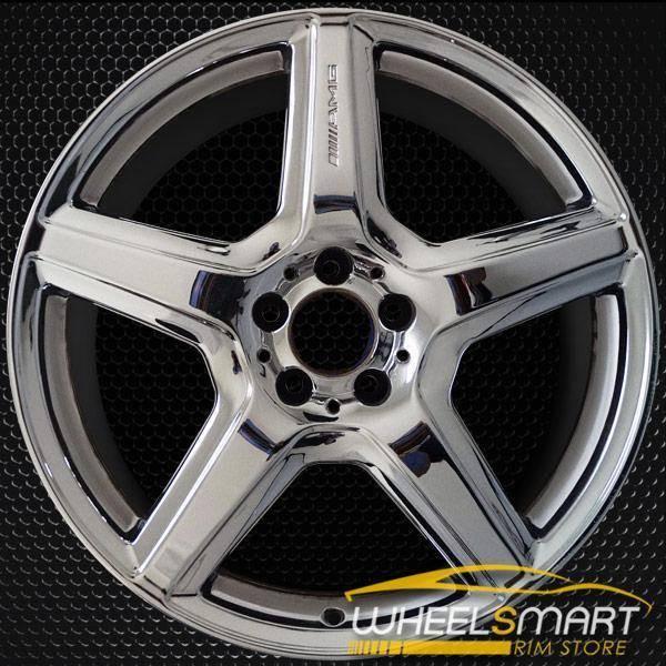 "19"" Mercedes ML550 rims for sale 2009-2010 AMG Chrome OEM wheel ALY85072U85"