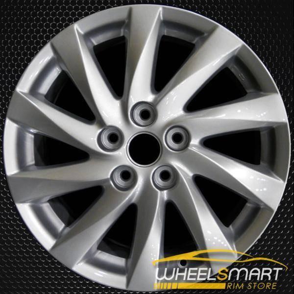"""17"""" Mazda 6 OEM wheel 2011-2013 Silver alloy stock rim ALY64942U20"""