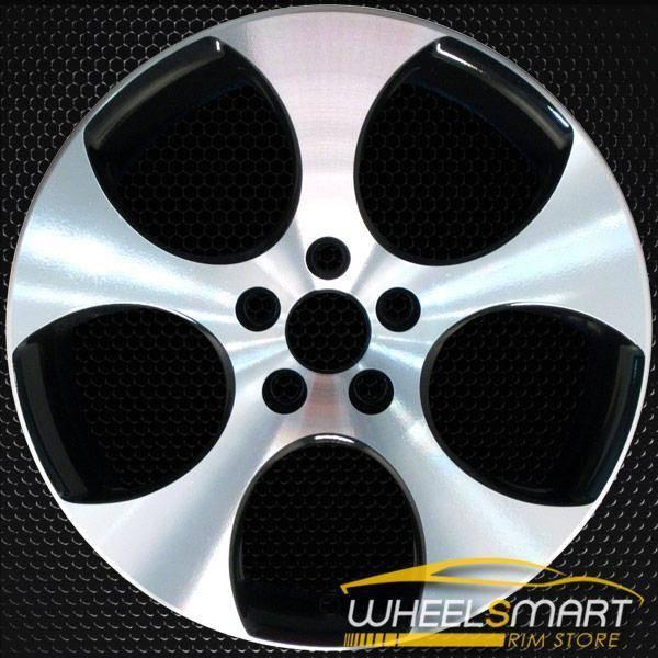 "18"" Volkswagen VW Golf OEM wheel 2006-2014 Machined alloy stock rim ALY69822U45"