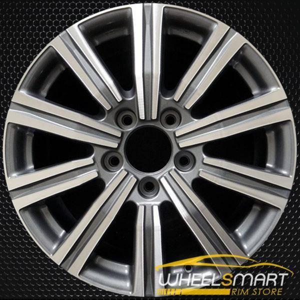 "21"" Lexus LX570 OEM wheel 2016-2018 Machined alloy stock rim ALY74341U30"
