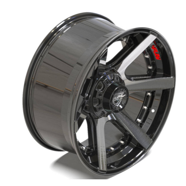 Machined Black 6-Lug 4Play 4P60 truck rims